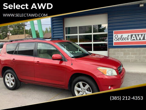 2007 Toyota RAV4 for sale at Select AWD in Provo UT