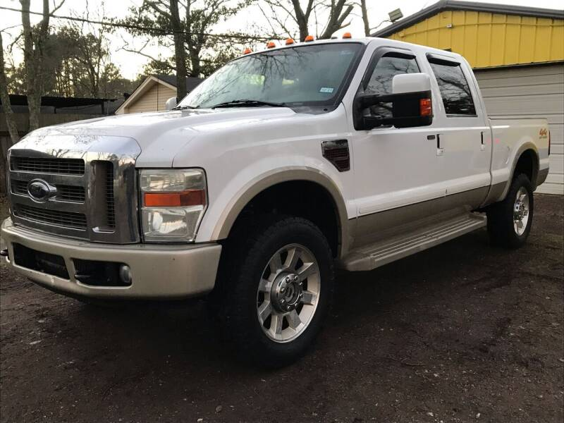 2008 Ford F-350 Super Duty for sale at M & J Motor Sports in New Caney TX