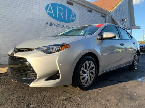2019 Toyota Corolla for sale at ARIA AUTO SALES in Raleigh NC