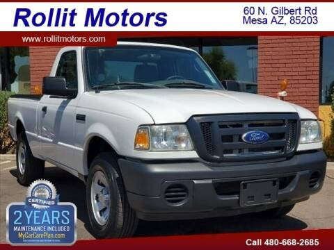 2011 Ford Ranger for sale at Rollit Motors in Mesa AZ