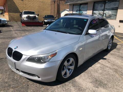 2007 BMW 5 Series for sale at TOP YIN MOTORS in Mount Prospect IL