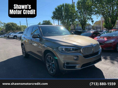 2017 BMW X5 for sale at Shawn's Motor Credit in Houston TX