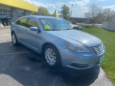 2014 Chrysler 200 for sale at McNamara Auto Sales - Kenneth Road Lot in York PA
