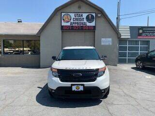 2015 Ford Explorer for sale at Utah Credit Approval Auto Sales in Murray UT