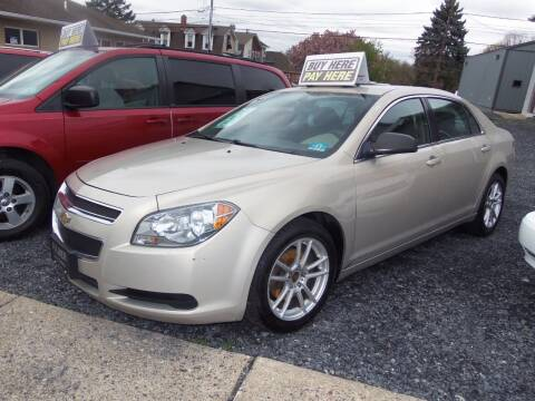 2012 Chevrolet Malibu for sale at Fulmer Auto Cycle Sales - Fulmer Auto Sales in Easton PA