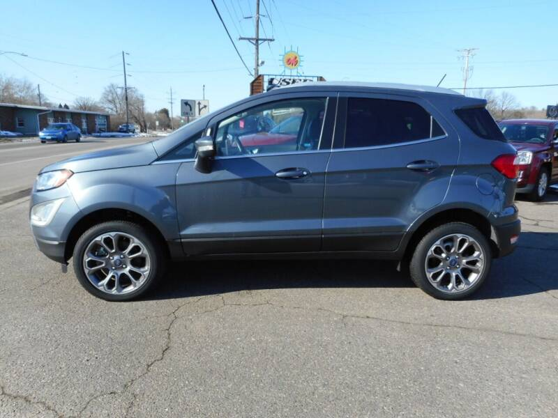 2018 Ford EcoSport for sale at O K Used Cars in Sauk Rapids MN
