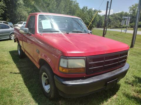 1995 Ford F-150 for sale at Easy Auto Sales LLC in Charlotte NC