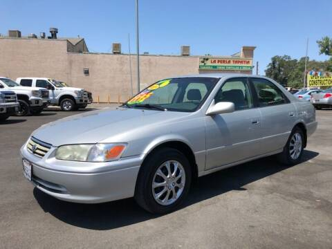 2001 Toyota Camry for sale at C J Auto Sales in Riverbank CA