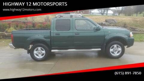 2001 Nissan Frontier for sale at HIGHWAY 12 MOTORSPORTS in Nashville TN