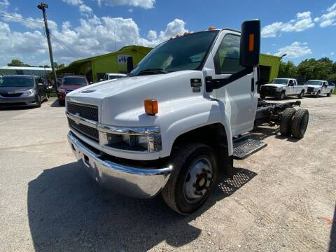 2007 Chevrolet C4500 for sale at RODRIGUEZ MOTORS CO. in Houston TX