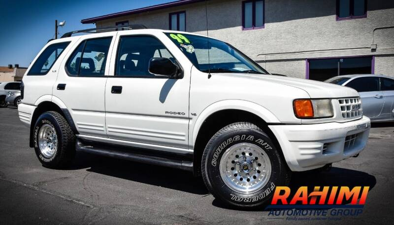 1999 Isuzu Rodeo for sale at Rahimi Automotive Group in Yuma AZ