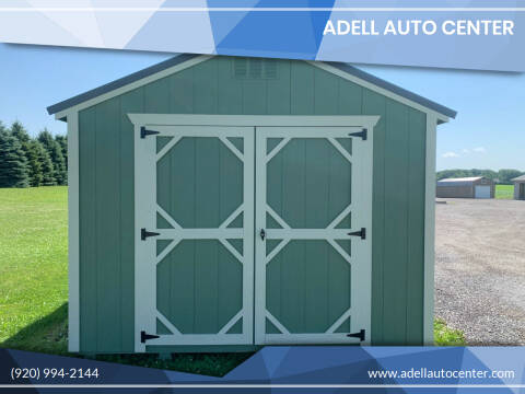 2020 DOUBLE H BUILDINGS 10X12 UTILITY SHED for sale at ADELL AUTO CENTER in Waldo WI