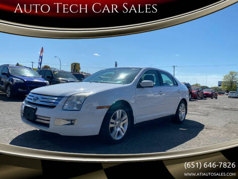 2007 Ford Fusion for sale at Auto Tech Car Sales in Saint Paul MN
