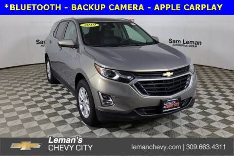 2019 Chevrolet Equinox for sale at Leman's Chevy City in Bloomington IL