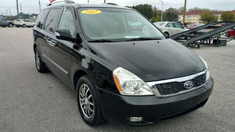2012 Kia Sedona for sale at Kelly & Kelly Supermarket of Cars in Fayetteville NC