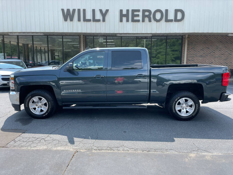 2017 Chevrolet Silverado 1500 for sale at Willy Herold Automotive in Columbus GA