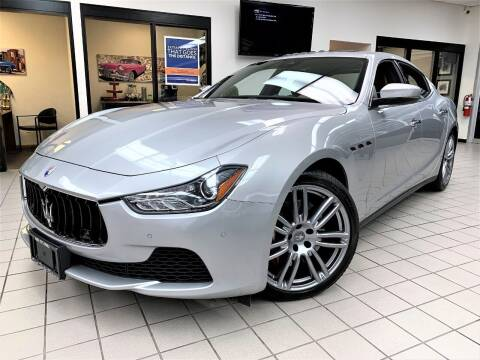 2017 Maserati Ghibli for sale at SAINT CHARLES MOTORCARS in Saint Charles IL