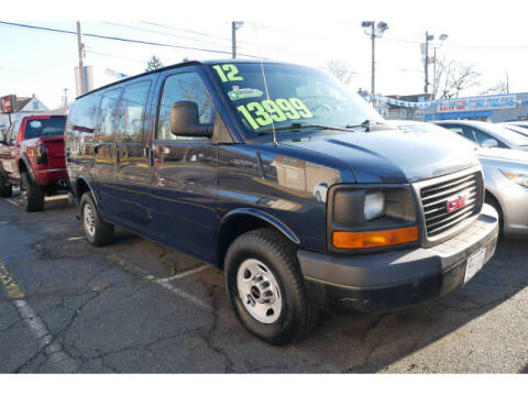 2012 GMC Savana Cargo for sale at M & R Auto Sales INC. in North Plainfield NJ