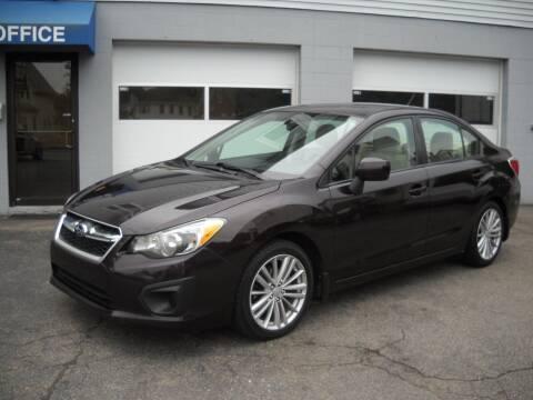 2012 Subaru Impreza for sale at Best Wheels Imports in Johnston RI