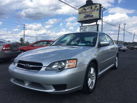 2005 Subaru Legacy for sale at A & D Auto Group LLC in Carlisle PA