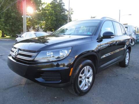 2016 Volkswagen Tiguan for sale at PRESTIGE IMPORT AUTO SALES in Morrisville PA