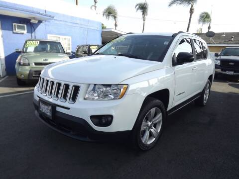 2012 Jeep Compass for sale at PACIFICO AUTO SALES in Santa Ana CA