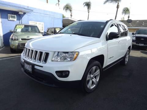 2012 Jeep Compass for sale at PACIFICO AUTO SALES in Santa Ana CA