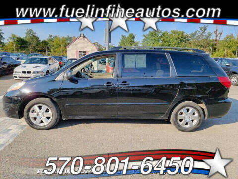 2010 Toyota Sienna for sale at FUELIN FINE AUTO SALES INC in Saylorsburg PA