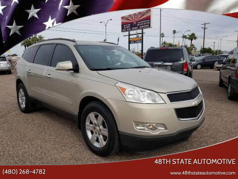 2011 Chevrolet Traverse for sale at 48TH STATE AUTOMOTIVE in Mesa AZ
