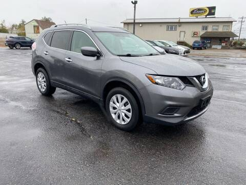 2016 Nissan Rogue for sale at Riverside Auto Sales & Service in Portland ME