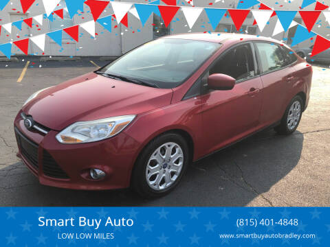 2012 Ford Focus for sale at Smart Buy Auto in Bradley IL