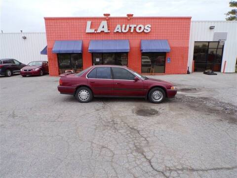 1992 Honda Accord for sale at L A AUTOS in Omaha NE