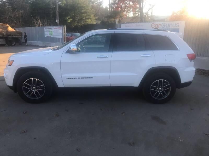 2018 Jeep Grand Cherokee for sale at Chuckran Auto Parts Inc in Bridgewater MA