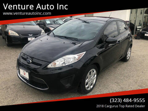 2012 Ford Fiesta for sale at Venture Auto Inc in South Gate CA