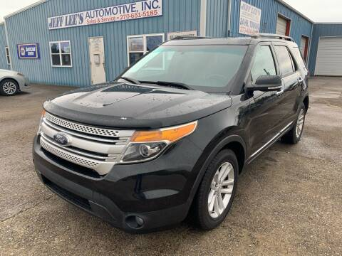 2015 Ford Explorer for sale at JEFF LEE AUTOMOTIVE in Glasgow KY