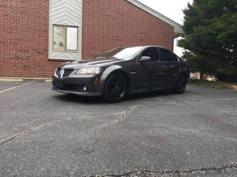 2008 Pontiac G8 for sale at Lenoir Auto in Lenoir NC