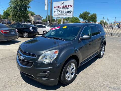 2013 Chevrolet Equinox for sale at A1 Auto Sales in Sacramento CA