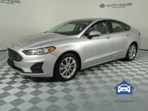 2019 Ford Fusion Hybrid for sale at Curry's Cars Powered by Autohouse - Auto House Tempe in Tempe AZ