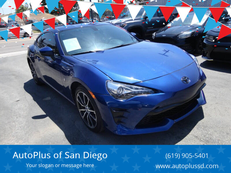 2018 Toyota 86 for sale at AutoPlus of San Diego in Spring Valley CA