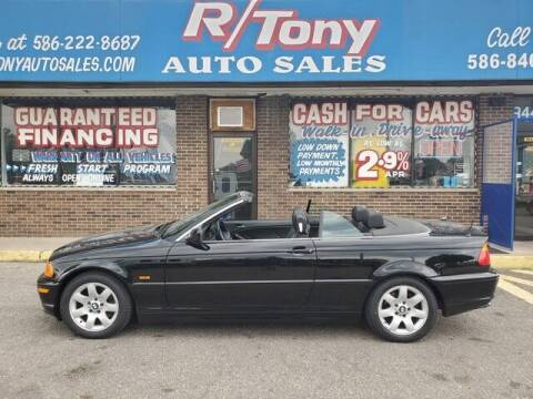2001 BMW 3 Series for sale at R Tony Auto Sales in Clinton Township MI