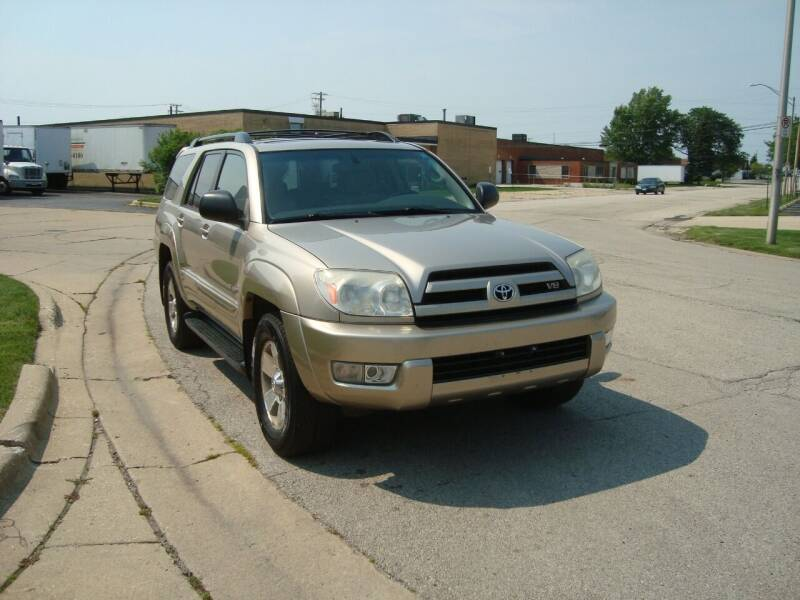 2004 Toyota 4Runner for sale at ARIANA MOTORS INC in Addison IL