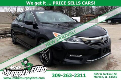 2017 Honda Accord for sale at Mike Murphy Ford in Morton IL