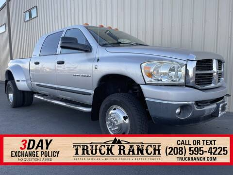 2006 Dodge Ram Pickup 3500 for sale at Truck Ranch in Twin Falls ID