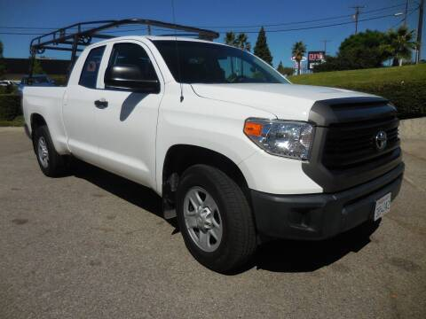 2016 Toyota Tundra for sale at ARAX AUTO SALES in Tujunga CA