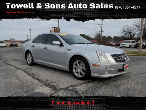2011 Cadillac STS for sale at Towell & Sons Auto Sales in Manila AR