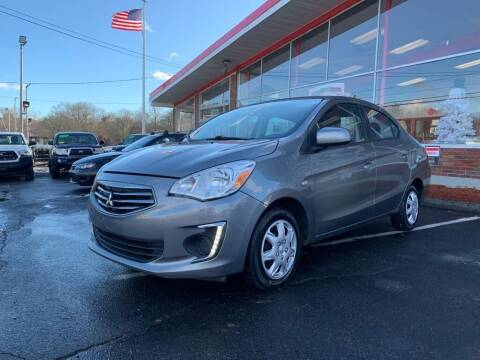 2018 Mitsubishi Mirage G4 for sale at USA Motor Sport inc in Marlborough MA