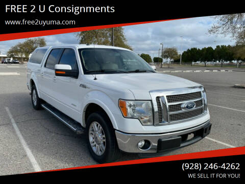 2012 Ford F-150 for sale at FREE 2 U Consignments in Yuma AZ