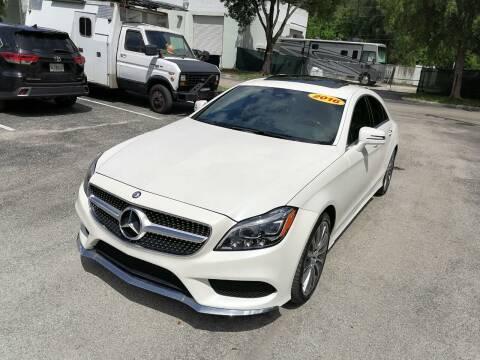 2016 Mercedes-Benz CLS for sale at Best Price Car Dealer in Hallandale Beach FL