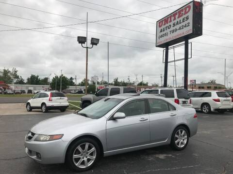 2004 Acura TSX for sale at United Auto Sales in Oklahoma City OK