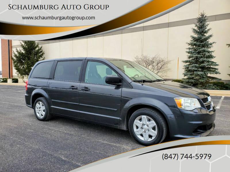 2012 Dodge Grand Caravan for sale at Schaumburg Auto Group in Schaumburg IL